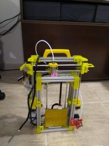 Impresora 3d plegable basada en Foldarap